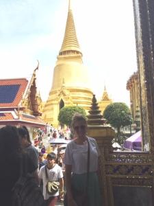 Heather in Thailand.